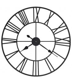 Ρολόι Τοίχου Vintage XXL 80 εκ. Μεταλλικό με Μηχανισμό Quartz  50644