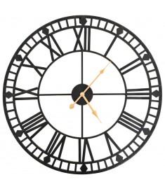 Ρολόι Τοίχου Vintage XXL 60 εκ. Μεταλλικό με Μηχανισμό Quartz  50645
