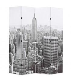 Διαχωριστικό Δωματίου Μέρα στη Νέα Υόρκη Ασπρόμαυρο 160x180 εκ.  245858