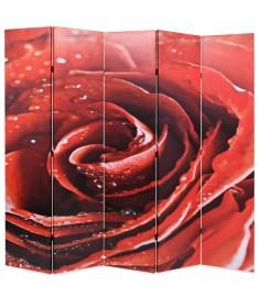 Διαχωριστικό Δωματίου Τριαντάφυλλο Κόκκινο 200 x 180 εκ.  245895