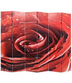 Διαχωριστικό Δωματίου Τριαντάφυλλο Κόκκινο 228 x 180 εκ.   245896