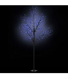 Δέντρο LED με Άνθη Εσωτερικού/Εξωτερικού Χώρου Μπλε Φως 300 εκ.  50688