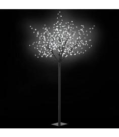 Δέντρο LED με Άνθη Εσωτερικού/Εξωτερικού Χώρου Λευκό Φως 250 εκ  50689