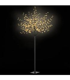 Δέντρο LED με Άνθη Εσωτερ./Εξωτερ. Χώρου Θερμό Λευκό 250 εκ.  50690