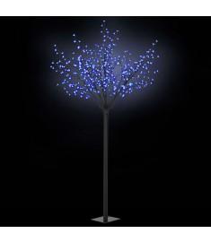 Δέντρο LED με Άνθη Εσωτερικού/Εξωτερικού Χώρου Μπλε Φως 250 εκ.  50691