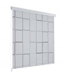 Κουρτίνα Μπάνιου Ρολό Σχέδιο Τετράγωνα 160 x 240 εκ.   142851