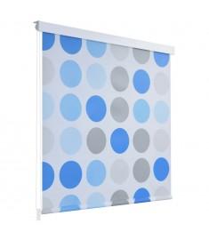 Κουρτίνα Μπάνιου Ρολό Σχέδιο Κύκλοι 160 x 240 εκ.   142857