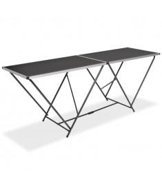 Τραπέζι για Κόλληση Ταπετσαρίας 200x60x78 εκ. από MDF/Αλουμίνιο  142920