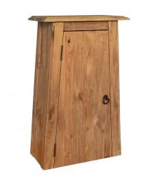 Ντουλάπι Μπάνιου Επίτοιχο 42x23x70 εκ. Μασίφ Ανακυκλωμένο Πεύκο  246039