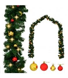 Γιρλάντα Χριστουγεννιάτικη Στολισμένη με Μπάλες / LED 5 μ.  246406