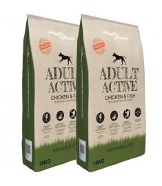 Ξηρά Τροφή Σκύλων Premium Adult Active Chicken & Fish 2τεμ 30 κ   275194