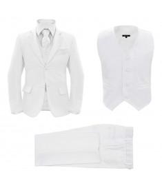 Κοστούμι Παιδικό Επίσημο 3 Τεμαχίων Λευκό Μέγεθος 128/134   133345