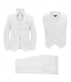 Κοστούμι Παιδικό Επίσημο 3 Τεμαχίων Λευκό Μέγεθος 140/146   133346