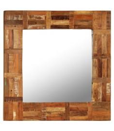Καθρέφτης Τοίχου 60 x 60 εκ. από Μασίφ Ανακυκλωμένο Ξύλο   246417