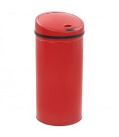 Κάδος Απορριμμάτων με Αισθητήρα Κόκκινος 52 Λίτρα  50718