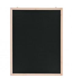 Μαυροπίνακας Τοίχου 60 x 80 εκ. από Ξύλο Κέδρου