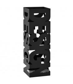 Ομπρελοθήκη με Σχέδιο Design Μαύρη Ατσάλινη   246793