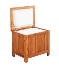 Ψυγείο Φορητό 63 x 44 x 50 εκ. από Μασίφ Ξύλο Ακακίας  43993