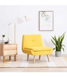 Πολυθρόνα Χωρίς Μπράτσα Κίτρινη 73 x 66 x 77 εκ. Υφασμάτινη  246986