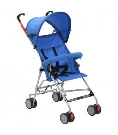 Καρότσι Παιδικό Πτυσσόμενο Μπλε Ατσάλινο  10148