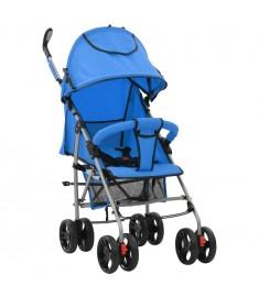Καρότσι 2 σε 1 Βρεφικό/Παιδικό Πτυσσόμενο Μπλε Ατσάλινο   10151