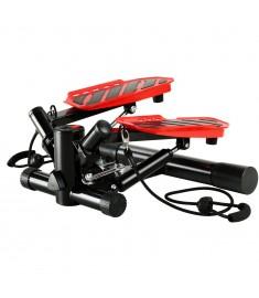 Swing Stepper με Λάστιχα Αντίστασης Μαύρο / Κόκκινο   91464
