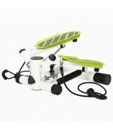 Swing Stepper με Λάστιχα Αντίστασης Λευκό / Πράσινο   91465