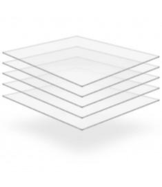 Φύλλα Πλεξιγκλάς 5 τεμ. Διάφανα 40 x 60 εκ. / 2 χιλ. Ακρυλικά  143531