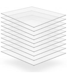 Φύλλα Πλεξιγκλάς 10 τεμ. Διάφανα 40 x 60 εκ. / 3 χιλ. Ακρυλικά   143532