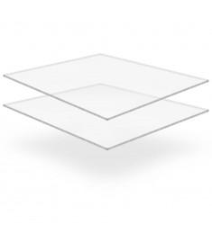 Φύλλα Πλεξιγκλάς 2 τεμ. Διάφανα 40 x 60 εκ. / 5 χιλ. Ακρυλικά  143544