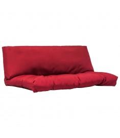 Μαξιλάρια για Παλέτες 2 τεμ. Κόκκινα από Πολυεστέρα   44654