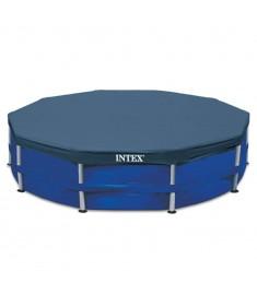 Intex Κάλυμμα Πισίνας Στρογγυλό 457 εκ. 28032  91511