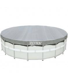 Intex Κάλυμμα Πισίνας Deluxe Στρογγυλό 488 εκ. 28040  91518