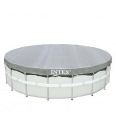 Intex Κάλυμμα Πισίνας Deluxe Στρογγυλό 549 εκ. 28041  91519