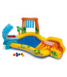 Intex Πισίνα Φουσκωτή Dinosaur Play Center 249 x 191 x 109 εκ. 57444NP  91525