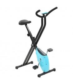 Ποδήλατο Γυμναστικής X-Bike με Αντίσταση Ιμάντα Μπλε   91692