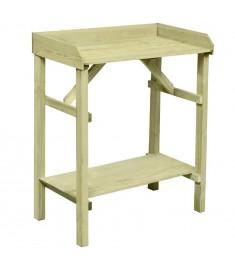 Τραπέζι για Γλάστρες 75x40x90 εκ. Εμποτισμένο Ξύλο Πεύκου FSC