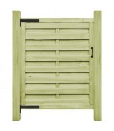 Πόρτα Φράχτη Πράσινη 100 x 150 εκ. Εμποτισμένο Ξύλο Πεύκου FSC   45317