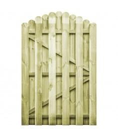 Πόρτα Φράχτη Καμπυλωτή 100x150 εκ. Εμποτισμένο Ξύλο Πεύκου FSC   45329