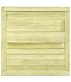 Πόρτα Φράχτη 100 x 100 εκ. από Εμποτισμένο Ξύλο Πεύκου FSC   45333