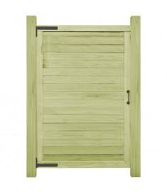Πόρτα Φράχτη 150 x 100 εκ. από Εμποτισμένο Ξύλο Πεύκου FSC  45335