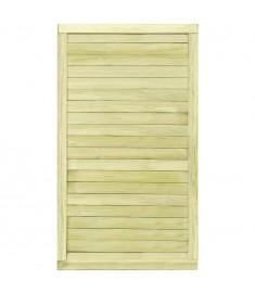 Πόρτα Φράχτη 175 x 100 εκ. από Εμποτισμένο Ξύλο Πεύκου FSC   45336