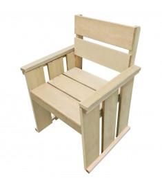 Καρέκλα Εξωτερικού Χώρου από Εμποτισμένο Ξύλο Πεύκου FSC  44909