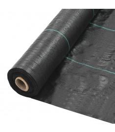 Ύφασμα Εδαφοκάλυψης Μαύρο 1 x 25 μ. από Πολυπροπυλένιο   45221