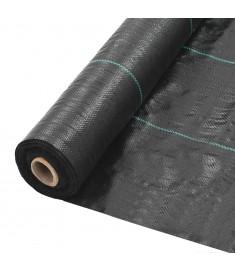 Ύφασμα Εδαφοκάλυψης Μαύρο 2 x 10 μ. από Πολυπροπυλένιο   45226