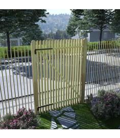 Πόρτα Φράχτη 100 x 150 εκ. από Εμποτισμένο Ξύλο Πεύκου FSC   45142