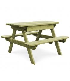 Τραπέζι Πικ-νικ με Παγκάκια από Εμποτισμένο Ξύλο Πεύκου FSC  45148