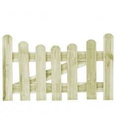 Πόρτα Φράχτη 100 x 60 εκ. από Εμποτισμένο Ξύλο Πεύκου FSC   45153