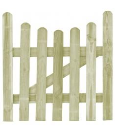 Πόρτα Φράχτη 100 x 100 εκ. από Εμποτισμένο Ξύλο Πεύκου FSC   45155