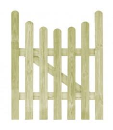 Πόρτα Φράχτη 100 x 120 εκ. από Εμποτισμένο Ξύλο Πεύκου FSC   45156